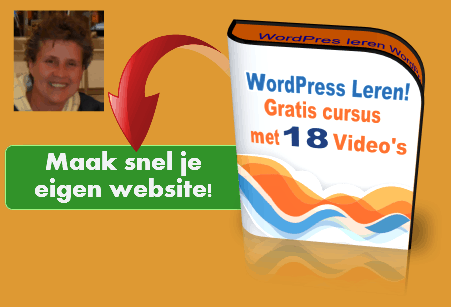 Gratis WordPress Cursus met 18 video tutorials